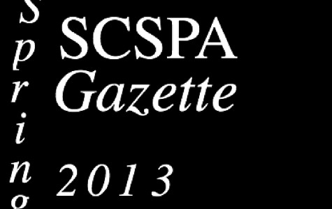 SCSPA Gazette: Spring 2013